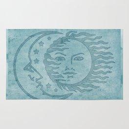 Sun Moon And Stars Batik Rug