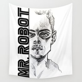 Mr.Robot Wall Tapestry