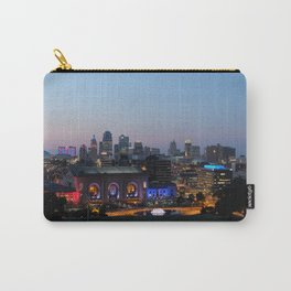 Kansas City Night Carry-All Pouch