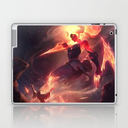 Infernal Akali League Of Legends Laptop & iPad Skin