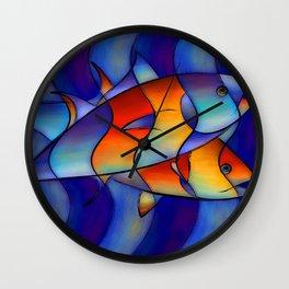 Cassanella - dream fish Wall Clock