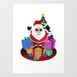 Santa Claus - Christmas Art Print