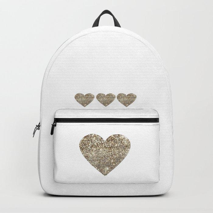 Gold Heart-65 Backpack
