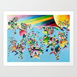 Carolyn Anne - CO518 Art Print
