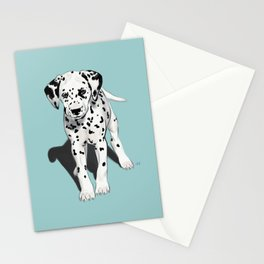 Dalmatian Puppy Stationery Cards