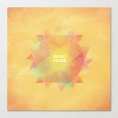 Dreams in bloom Canvas Print