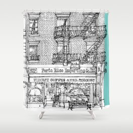 PORTO RICO IMPORT CO, NYC Shower Curtain