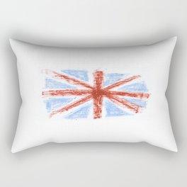 Flag of UK 9- London,united kingdom,england,english,british,great britain,Glasgow,scotland,wales Rectangular Pillow
