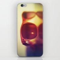 sunglasses iPhone & iPod Skins featuring Sunglasses by Marko