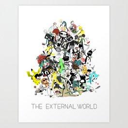 The External World Art Print