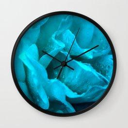 Blue Drops Wall Clock