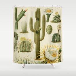 Naturalist Cacti Shower Curtain