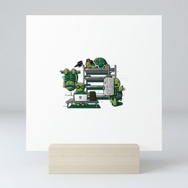 Roommates Mini Art Print