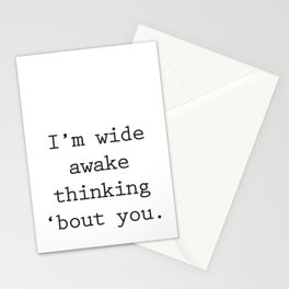 Wide Awake Print Stationery Cards