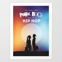 punk rock Art Prints featuring Punk Rock by jeswri
