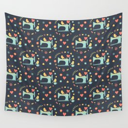Love sewing Wall Tapestry