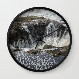 Thor's Well, No. 3 Wall Clock