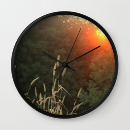 Simple Sunset Wall Clock