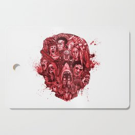The Essence of Horror [Red] Cutting Board