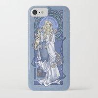 nouveau iPhone & iPod Cases featuring Galadriel Nouveau by Karen Hallion Illustrations