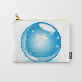 Christmas Star Globe Carry-All Pouch