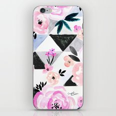 Sunset Rose Triangles iPhone & iPod Skin