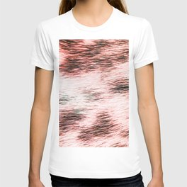 Abstract fur textures and patterns T-shirt