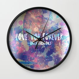 Hidden Love Wall Clock
