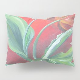 Red and Yellow Tulips Pillow Sham