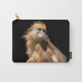 Banded Leaf Monkey Howletts Carry-All Pouch