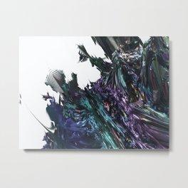 Volcanic Rock Star 1 (3D Fractal Digital Art) Metal Print
