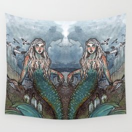 Tempest Mermaid Wall Tapestry