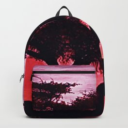 Cherry Blossom Sunset Backpack