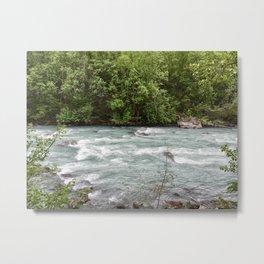 Raging River (landscape) Metal Print