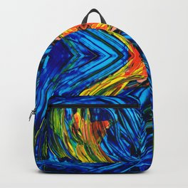 Modern Art - Xuberant - By Sharon Cummings Backpack