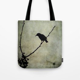 Oh Black Bird Tote Bag