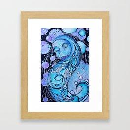 Pisces Dreamer Framed Art Print