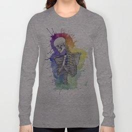 Todos tenemos un lado artistico Long Sleeve T-shirt