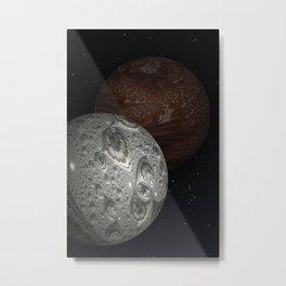 The Mars Hoax Metal Print