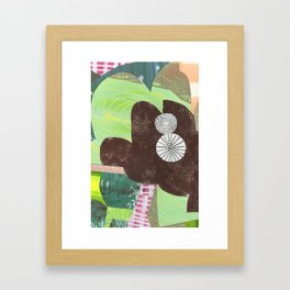 collage 207 Framed Art Print