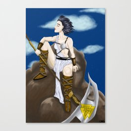 Hati Canvas Print