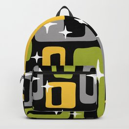 Retro Mid Century Modern Abstract Pattern 617 Backpack
