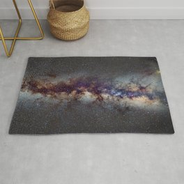 The Milky Way: from Scorpio, Antares and Sagitarius to Scutum and Cygnus Rug