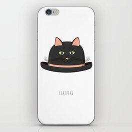 Chatpeau iPhone Skin