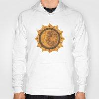 sun and moon Hoodies featuring Sun Moon Star by Geni