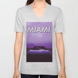 Miami Unisex V-Neck
