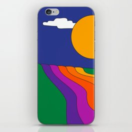 Rolling Hills iPhone Skin