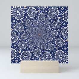 Bleu Gyre Royale Mini Art Print