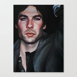 Ian Somerhalder (Damon from Vampire Diaries) Canvas Print