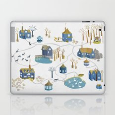 BLUE VILLAGE Laptop & iPad Skin